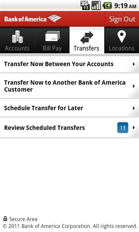 app bank of america bank of america revs its mobile banking app with