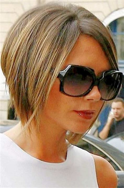 hairstyles for fine damaged hair victoria beckham hairstyles side view beckham bob
