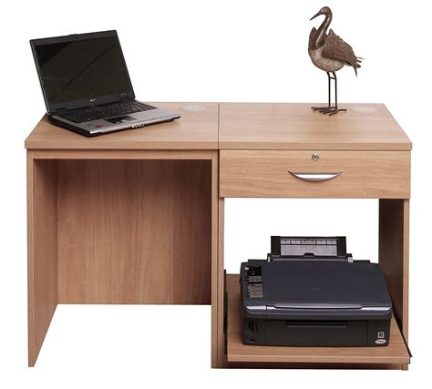 Laptop And Printer Desk Fabulous Puter Desk For Laptop With Furniture Black Glass Office Printer Table