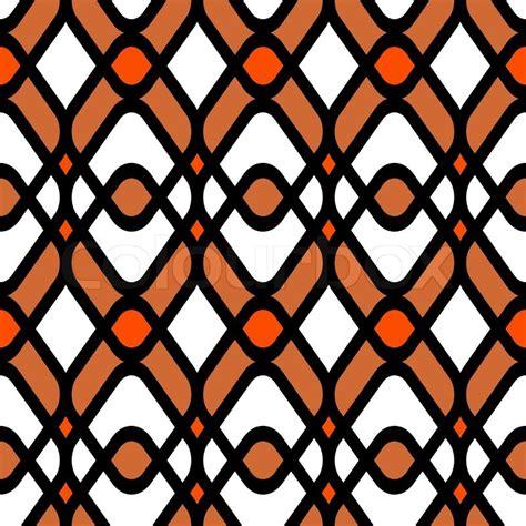 60s design abstract geometric background modern seamless pattern
