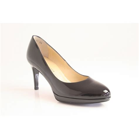 black patent shoes kaiser kaiser quot konia quot black patent leather