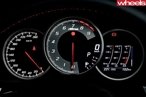 Toyota Instrument Panel Lights 2017 Toyota 86 Targets Dynamics More Than Performance