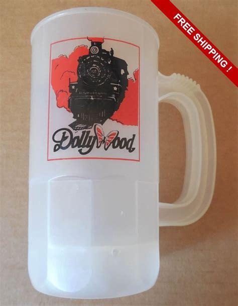 Plastic Souvenir 1 vintage dollywood plastic souvenir cup plastic vintage
