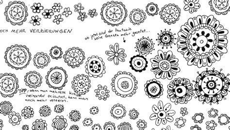 doodle zeichnen aus einer grundform 252 ber 40 einfache blumen zeichnen