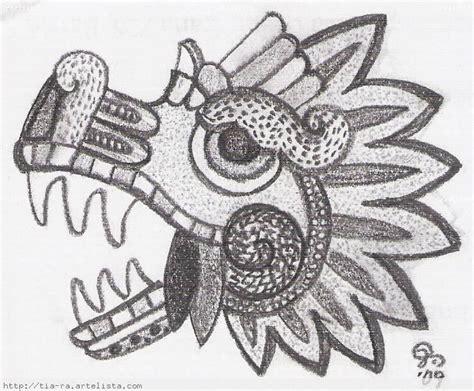Calendario Azteca Animales Dibujos Aztecas Vida