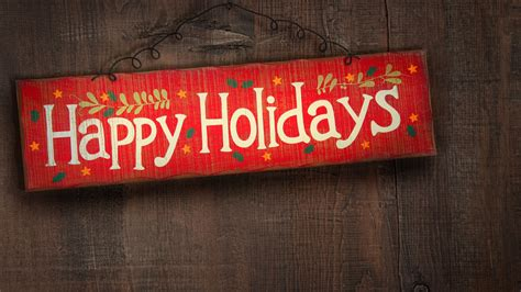 2560x1440 happy holidays sign desktop pc and mac wallpaper