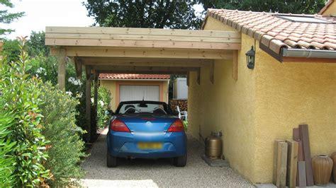 carports de carports bois garages bois personnalis 233 s au sur mesure