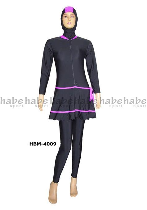 Baju Renang Wanita Dewasa Muslimmuslimah Polos baju renang muslimah dewasa hbm 4009 distributor dan
