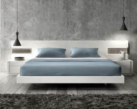 Modern Contemporary Platform Beds - lacquered graceful wood luxury platform bed with long panels oklahoma oklahoma j amp m amora