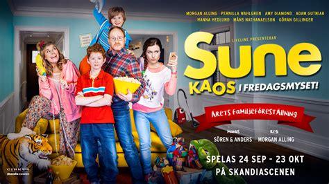Kaos I sune kaos i fredagsmyset cirkus stockholm