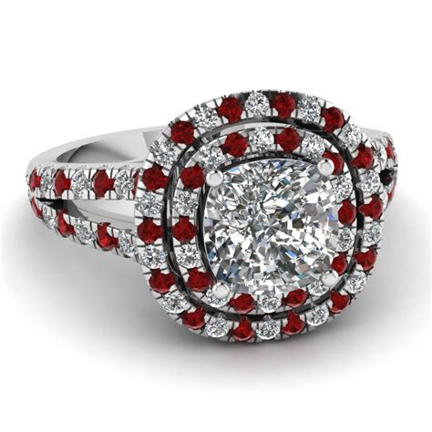 Wedding Ring Ruby by Purchase Ruby Halo Engagement Rings Fascinating Diamonds