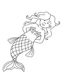 mermaid coloring free printable mermaid coloring pages for