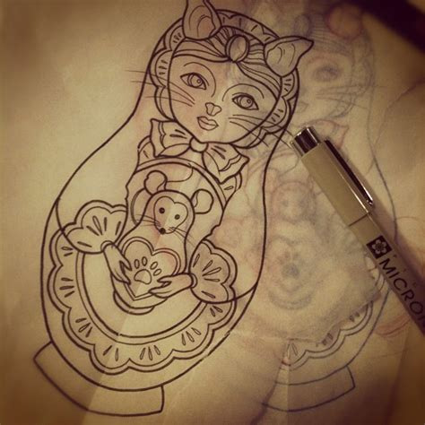 russian doll tattoo designs 17 best images about matryoshka on nesting