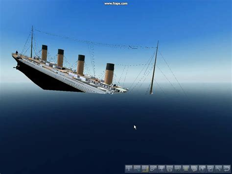 Titanic Simulator Sinking titanic sinking in ship simulator 2008