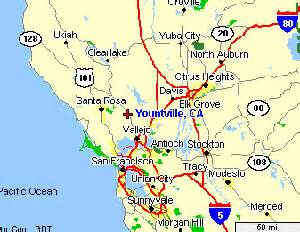 where is yountville california on the map napa california map