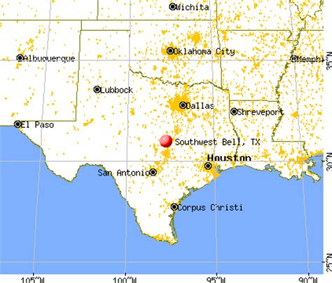 southwest texas map map of southwest texas my
