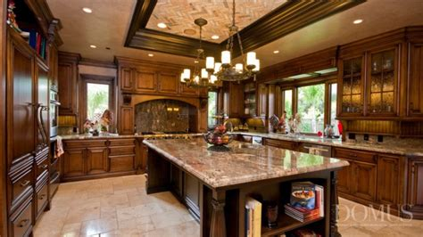 delightful brown kitchens  traditional style
