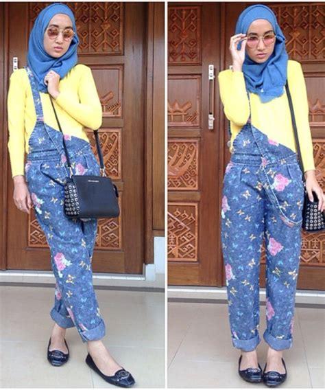 Fashion Terbaru Muslimah model baju kodok overall terbaru untuk muslimah info fashion terbaru 2018