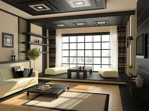 Living Room Zen Style Zen Inspired Interior Design