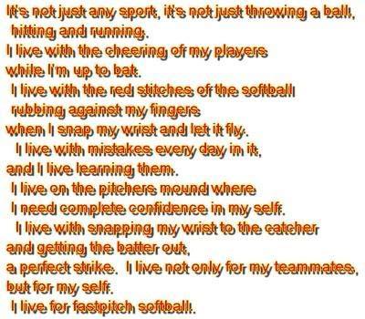 rock the boat softball chant lyrics i love fastpitch softball quotes quotesgram