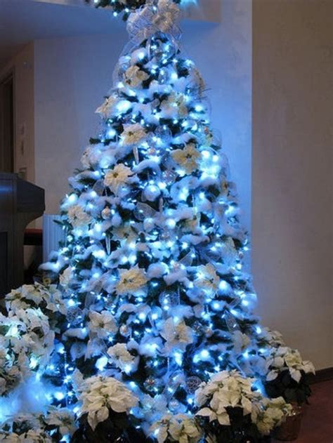 blue white christmas tree pictures photos and images