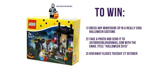 Lego Giveaway - halloween 2015 giveaway win a lego trick or treat set jays brick blog plastic