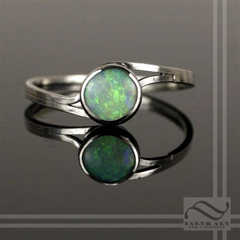 buy a made simple opal bypass ring made to order