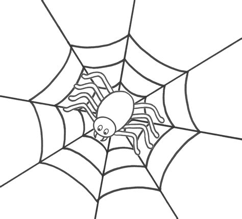 coloring page of a spider coloring picture of spider