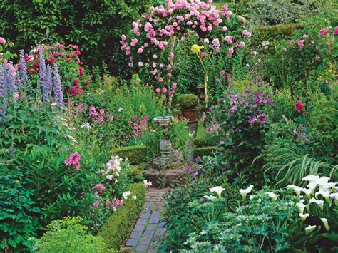 cottage garden flowers cottage style up a tour of one garden landscaping