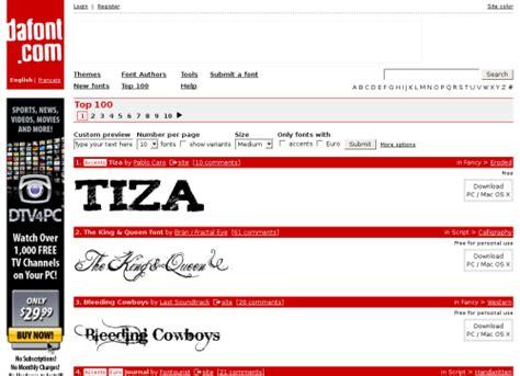 dafont reviews gt the fonts paradise dafont com techno blog