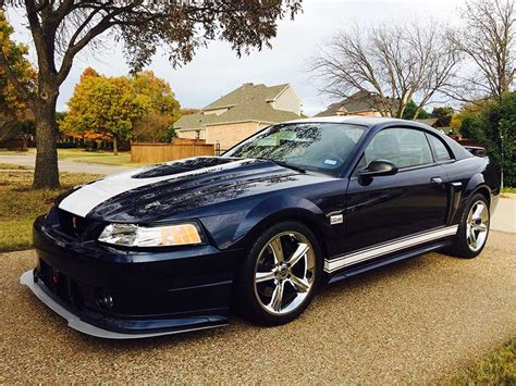 4th generation blue 2002 ford mustang gt for sale