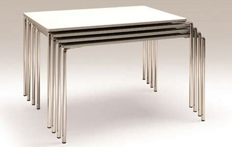 Stackable Tables by Clip Table By Komplot Design For Fora Form 3rings