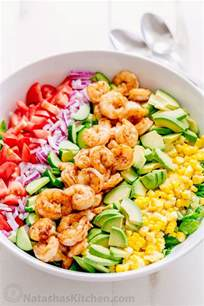 best salad recipes shrimp avocado salad recipe natashaskitchen com