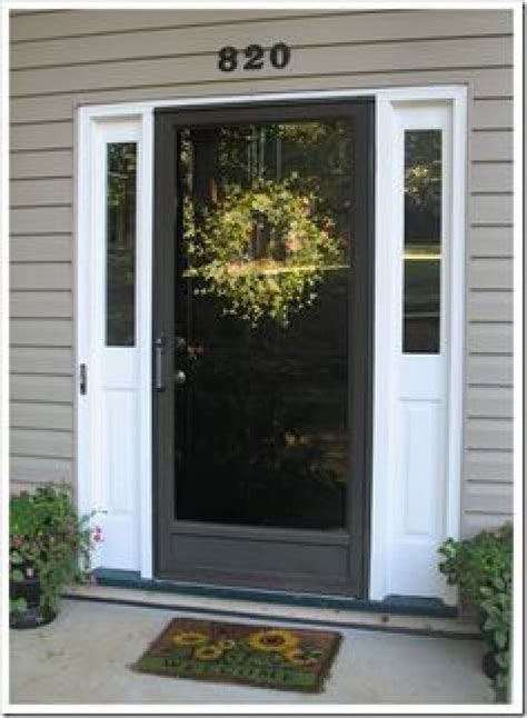 How To Cover A Glass Front Door Engaging Front Door Glass Cover Black Front Door With Clear Glass Cover For The Door And