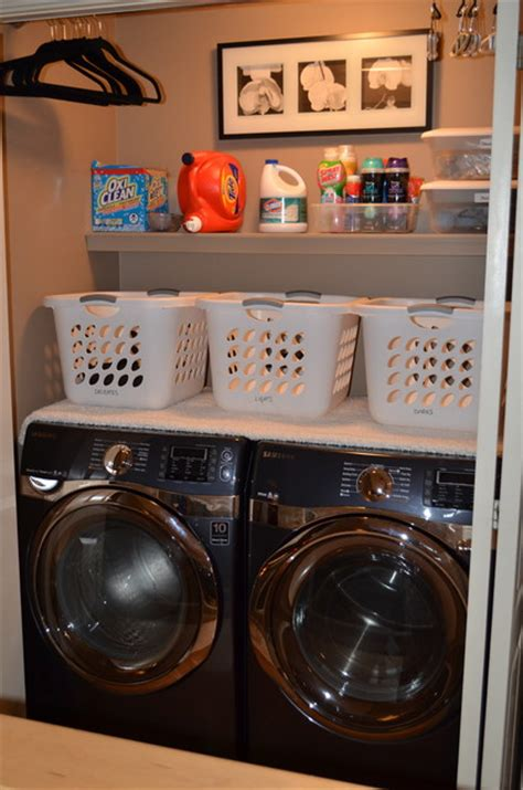 Closet Laundry Mat by Laundry Rooms Modern Laundry Room Edmonton By What