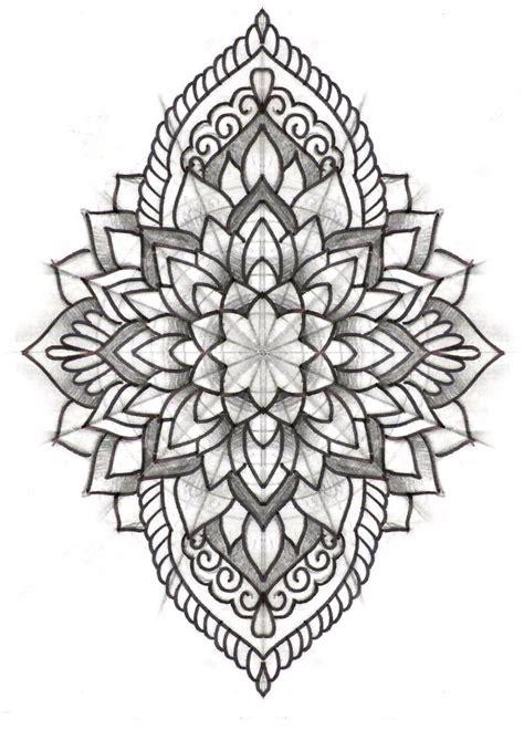 mandala tattoo long mandala pinteres