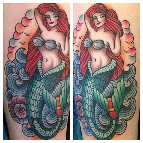 traditional ariel 89 best images on school traditional ink and traditional tattoos