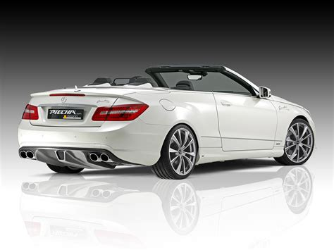 convertible mercedes piecha design releases tuning kit for mercedes benz e
