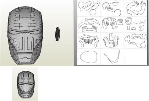 printable iron man helmet template 17 best photos of iron man paper mask template iron man