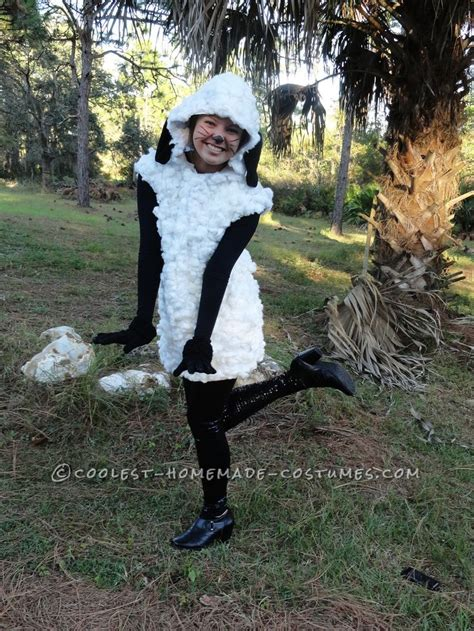 Handmade Sheep Costume - 25 best ideas about sheep costumes on