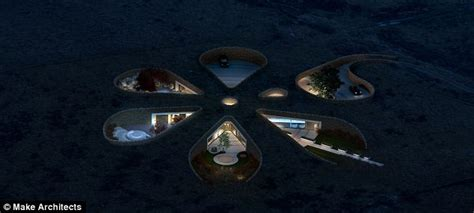 The Petals Floor Plan gary neville builds teletubby eco home daily mail online