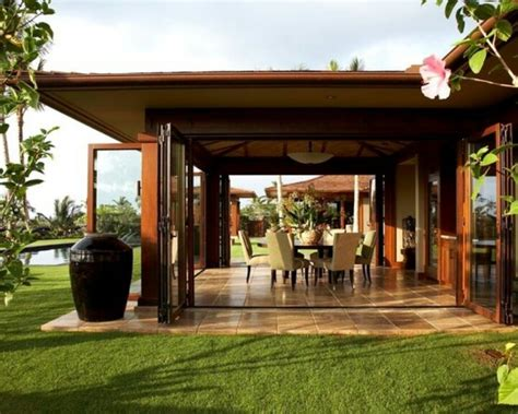 Tropical Modern Lanai Outside Living Pinterest House Plans With Enclosed Patio