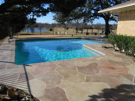 Pool Patio Designs Sted Concrete Pool Patio Designs Ideas For Sted Concrete Around Pool With Luxury Sted