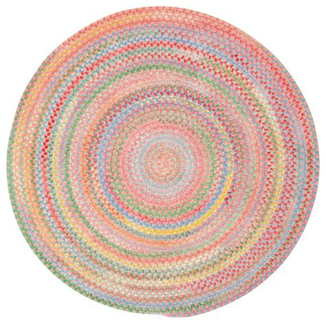 pink braided rug capel rugs baby s breath braided rug pink view in your room houzz