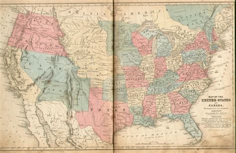 map of usa in 1850 pennsylvania in geography books 1850 1900