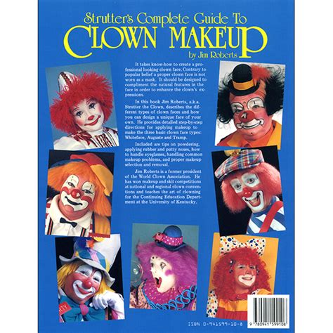 a fools guide to clowning books strutter s complete guide to clown makeup piccadilly books