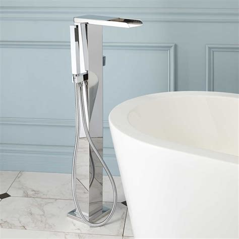 stand alone bathtub faucet