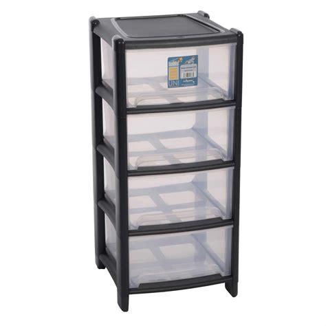 Garage Drawer Unit by Wham 4 Drawer Storage Unit Plastic Tower Draw