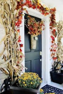 Front Door Decorating Ideas Get Into The Seasonal Spirit 15 Fall Front Door D 233 Cor Ideas