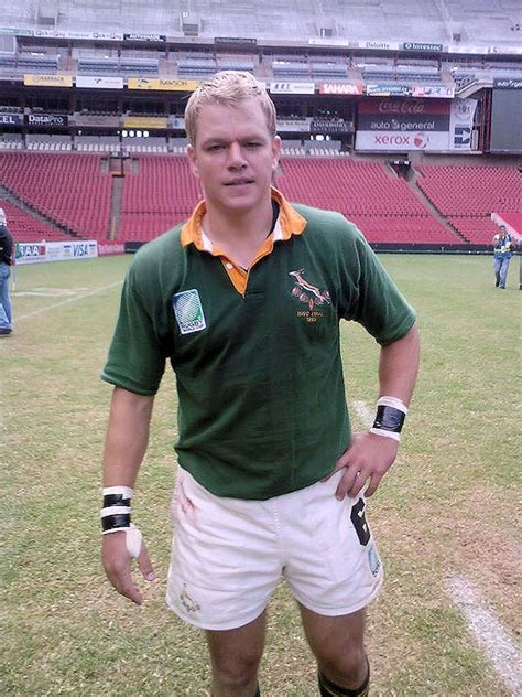 matt damon south africa freeman as nelson mandela in invictus look